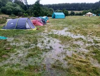 190 Scouts FOS De Vleermuis Dikkelvenne geëvacueerd op kampplaats in Paliseul
