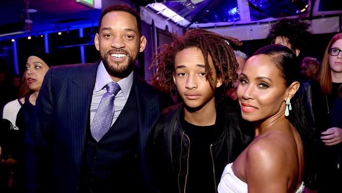 Will et Jada Pinkett Smith, avec leur fils Jaden