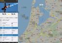 Gegevens van Flightradar24