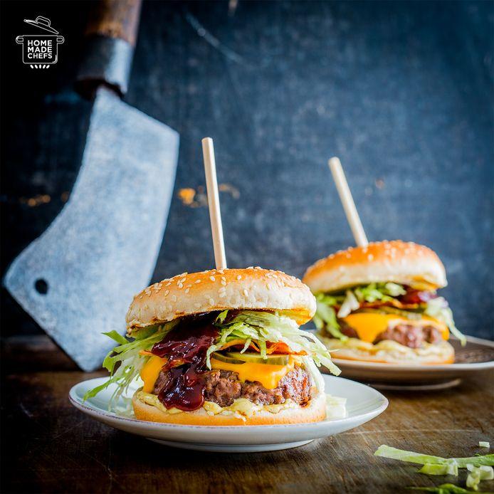 Bbq-burger.