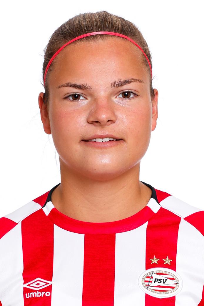 PSV-speelster Kayleigh van Dooren.