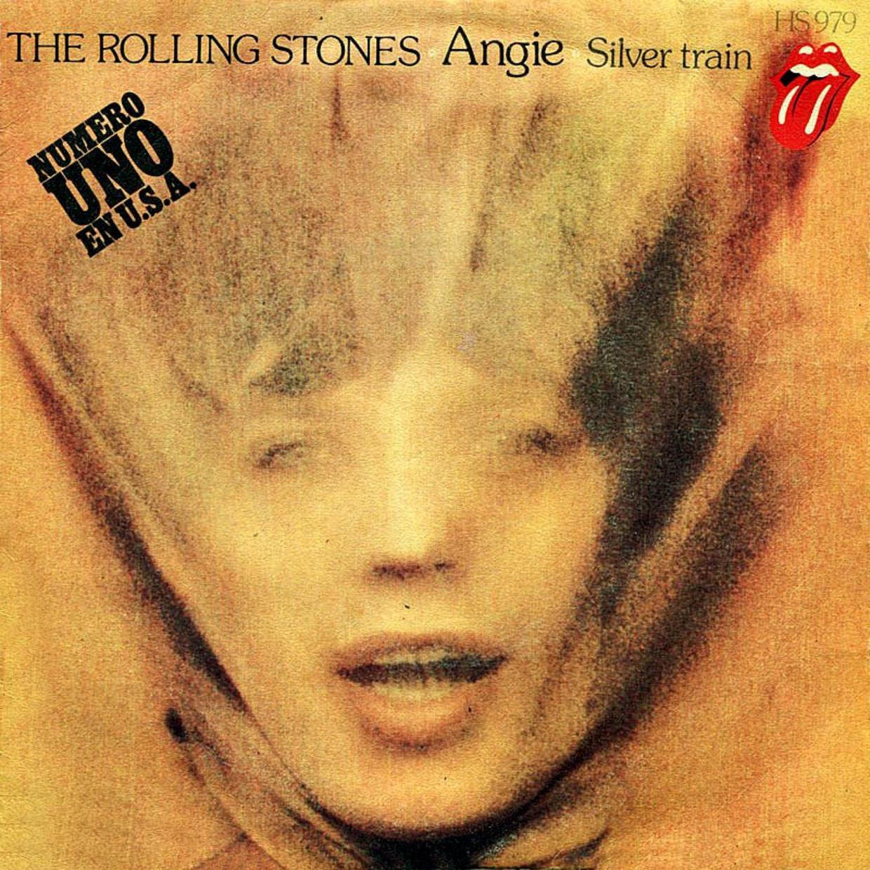'Angie' Rolling Stones Beeld