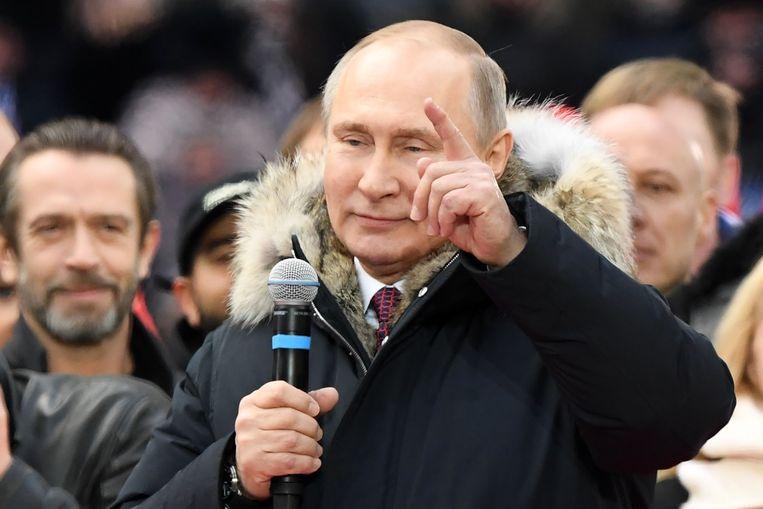 Vladimir Poetin. Beeld AFP