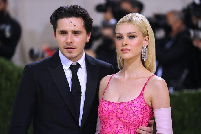 Brooklyn Beckham en zijn vriendin, actrice Nicola Peltz.