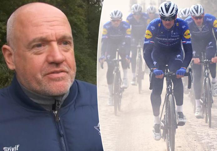 Tom Steels trok op verkenning met zijn renners.