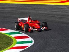 Mick Schumacher rijdt in Ferrari van vader Michael over Mugello: 'Ging heel veel door me heen'