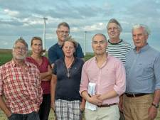 Dinteloord protesteert fel tegen megawindmolens