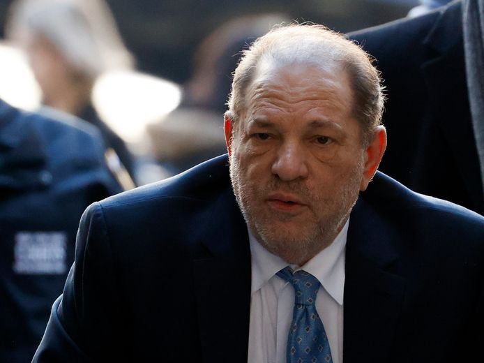 Voormalig filmproducent Harvey Weinstein