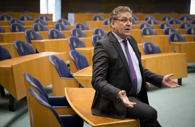 Henk Krol in de Tweede Kamer. Beeld anp