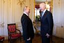 Vladimir Poutine et Joe Biden à Genève ce mercredi.