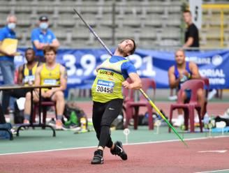 """Speerwerper Timothy Herman wint Flanders Cup Lier met 76m03: """"Het doel blijft om weer voorbij 80m te gaan"""""""