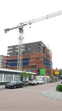 Bij het Paletplein realiseert bouwbedrijf Hendriks bouwt een acht verdiepingen hoge toren met veertig woningen voor WonenBreburg.