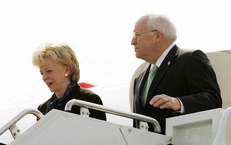 Dick Cheney en zijn vrouw Lynn. Foto AP Beeld