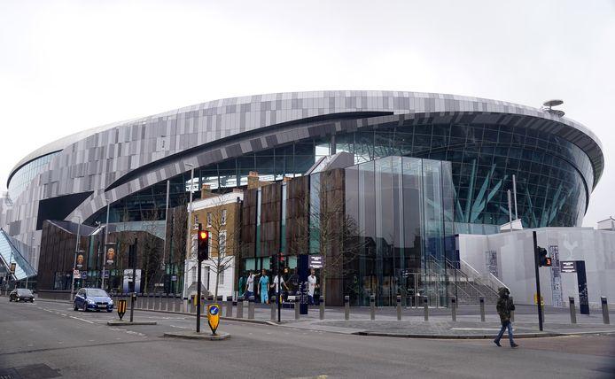 Het Tottenham Hotspur Stadium in het noordoosten van Londen.