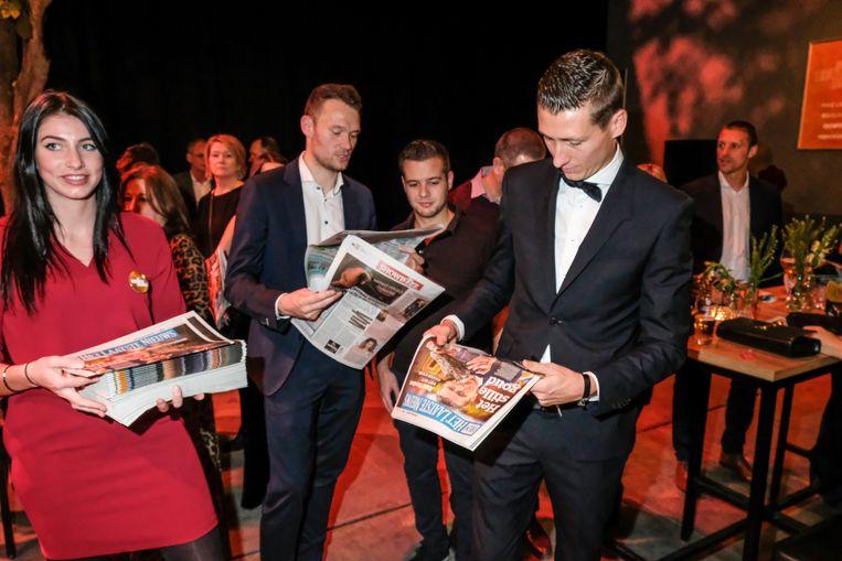 Gouden Schoen 201! winnaar Hans Vanaken en dries mertens