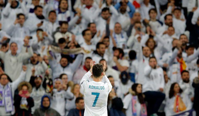 Cristiano Ronaldo na de kwartfinale. Beeld AP