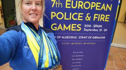 Mia van politie Het Houtsche wint 17 keer goud