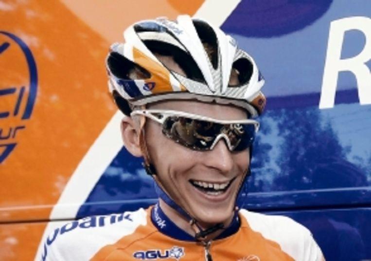 De Nederlandse troef in de bergen van de Tour Robert Gesink. (ANP) Beeld