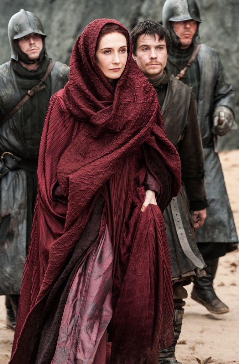 Carice van Houten speelt Melisandre Beeld hbo