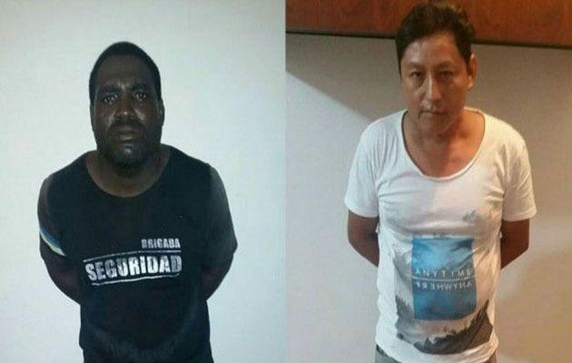 Les deux assassins présumés des deux touristes argentines.