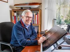 Apeldoornse ex-topman Vredestein maakt jongensdroom waar: een stripverhaal à la Kuifje