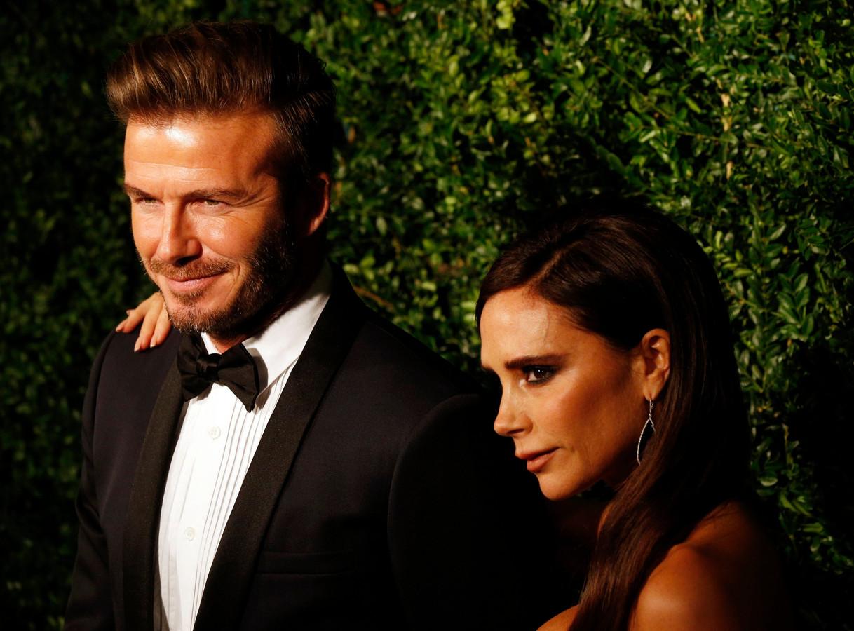 David en Victoria Beckham.