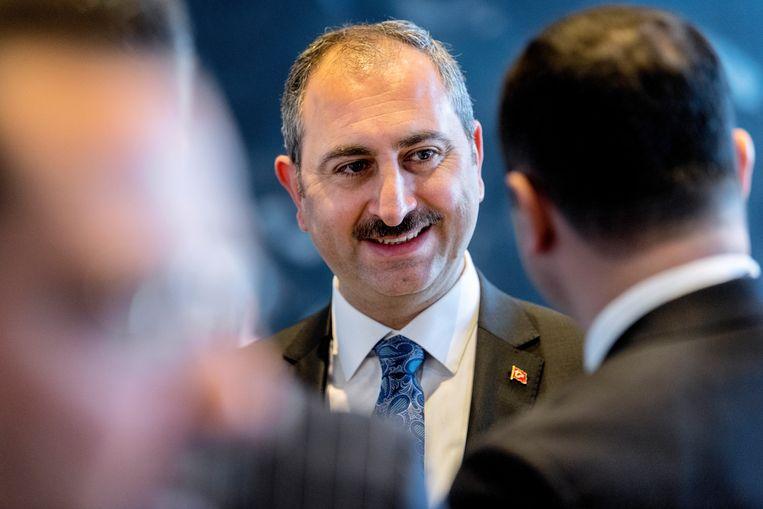 De Turkse minister van Justitie Abdülhamit Gül. Beeld EPA