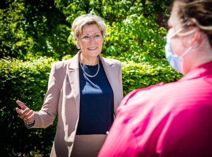 Wethouder Joanne Blaak.