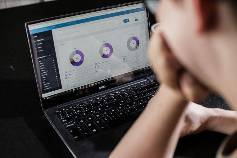 Met software Isaac kunnen bedrijven de klantentevredenheid beter meten. Beeld Bob Van Mol