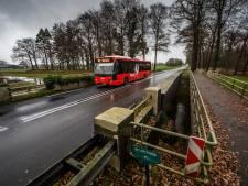 Brug over de Schipbeek in oude N18 gaat dicht voor zwaar verkeer