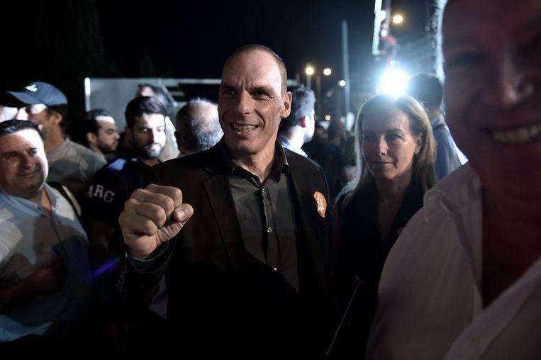 Yanis Varoufakis. Beeld AFP