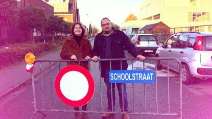 Schoolstraat aan Boom Park verlengd tot na krokusvakantie