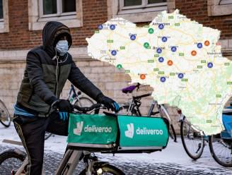 IN KAART. Deliveroo breidt uit naar 15 Belgische steden: op deze plaatsen kan je vandaag al bestellen