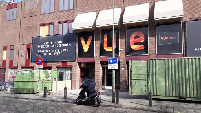 Verbouwing bioscoop VUE Den Bosch