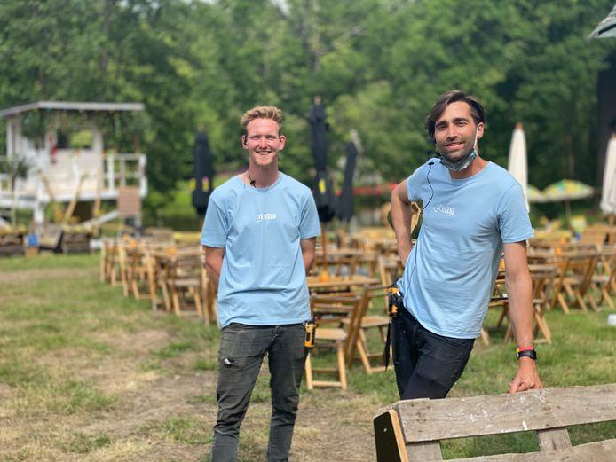 Yolan Van Den Branden en Thomas Lambrechts, de sturende krachten achter Vreiland.