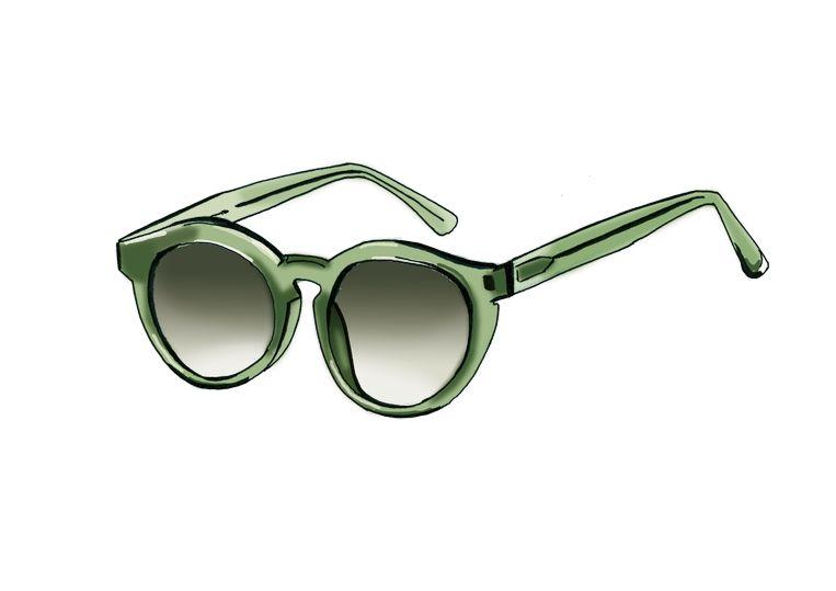 Gobi zonnebril.  Beeld Andrea Turvey