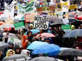 Tienduizenden mensen bij klimaatmars in Amsterdam