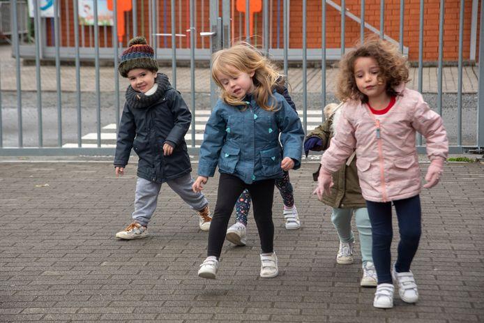 Sportief paaskamp voor kleuters in Wichelen.