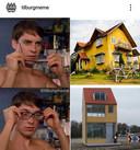 Het Draaiend Huis volgens Tilburg Meme (op Instagram).