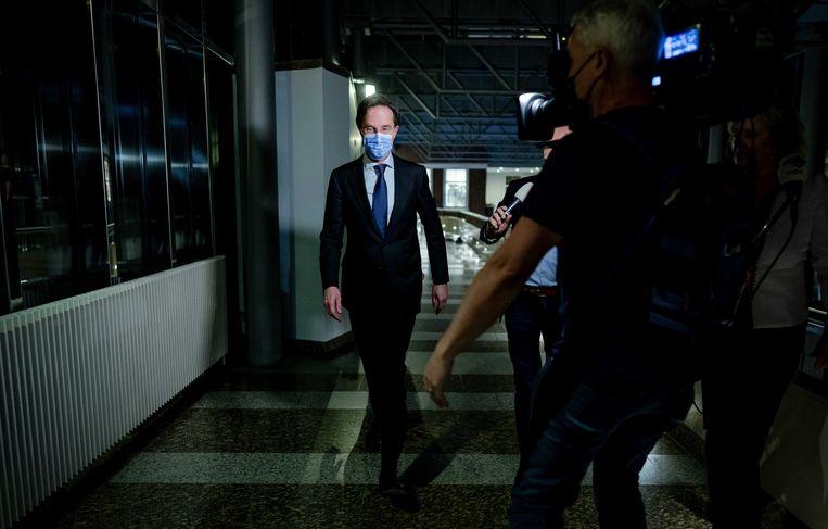 Mark Ruttes VVD is  weer de grootste en heeft het voortouw bij de formatie. Beeld ANP
