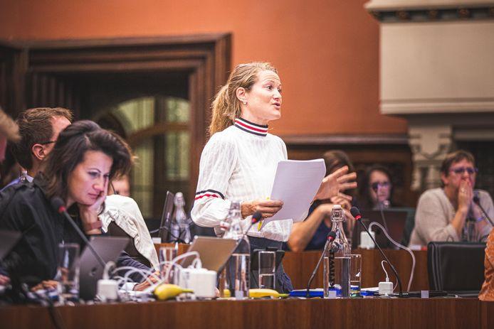 """Archiefbeeld: """"Voor de duidelijkheid: ook wij verwachten niet dat iedereen proza kan schrijven"""", liet fractievoorzitter Anneleen Van Bossuyt dinsdagavond optekenen."""