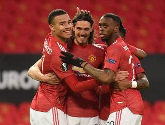 Manchester United wast het varkentje na vroege goal Cavani, Europees sprookje van Granada zit erop