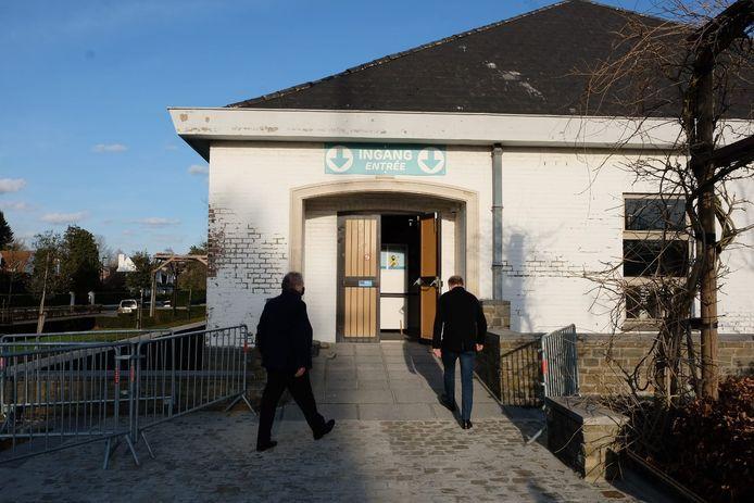 Vaccinatiecentrum in Wemmel