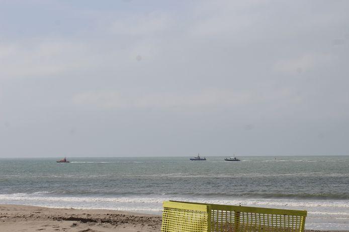 Deze middag was er voor de kust van Nieuwpoort en Oostduinkerke een zoekactie naar een drenkeling op de Noordzee.