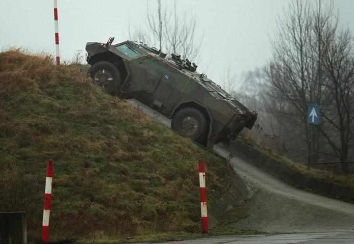 Het voormalige DAF Special Products bouwde als SP Aerospace in Geldrop het pantservoertuig Fennek.