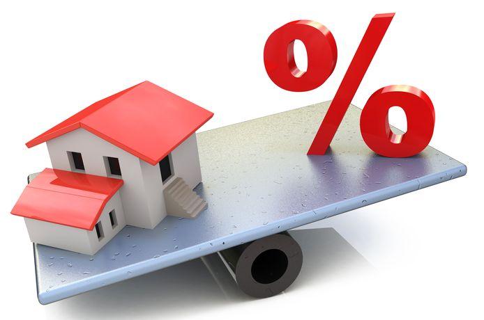 De hypotheekrente blijft voorlopig nog ongeveer wat hij is, maar of dat zo blijft is nog de vraag.