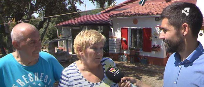De Vlaamse Lieve en haar man zijn de enige bewoners van Suelves. Ze stonden vorig jaar een regionale tv-zender te woord.