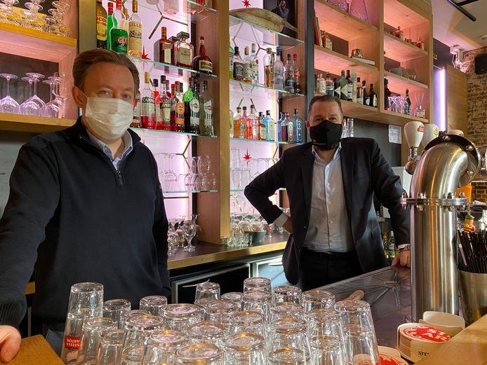 Tim Joiris is voortaan het gezicht van de Horecacel Unizo Oost-Vlaanderen, Jos Vermeiren nog steeds de directeur van UNIZO Oost-Vlaanderen