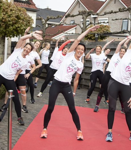 Halve marathon in Vriezenveen: 'Women only, maar samen sterk tegen kanker'