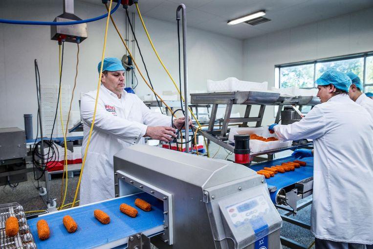 Directeur Dennis de Borst, derde generatie in het familiebedrijf, in de Febofabriek in Noord Beeld Jean-Pierre Jans